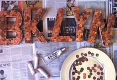 9 Trendy DIYs for Your Pennies & Other Loose Change #diyboston