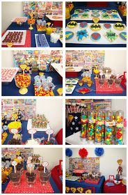 sweet bambinos: {Real Party} - Superheroes Party