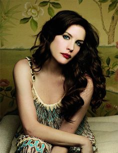 Liv Tyler peopl, makeup, long hair, red lips, pink lips, beauti, liv tyler, beauty, women