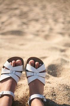 Saltwater Sandals, from my youth! Although I still own a pair <3