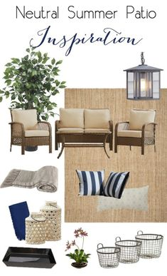 Summer Patio Inspira