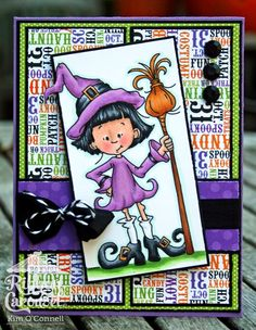 "Paper Perfect Designs by Kim O'Connell: Sassy Cheryl's ""The Good Little Witch"""