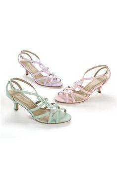 Swirl-Front Sandals