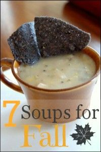 7 Soup Recipes for Fall!