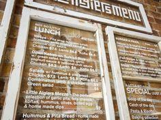 Little Algiers Restaurant Branding