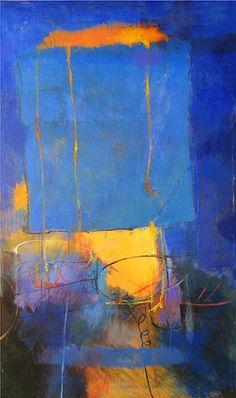 Tony Saladino ~ Lugar Caliente (acrylic)