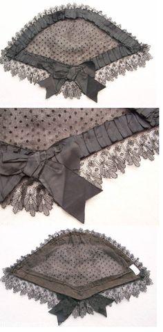 Civil War Era Lady's Lace Head Dress
