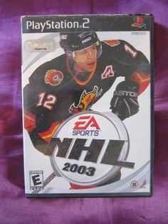 EA Sports NHL 2003 Sony PlayStation 2