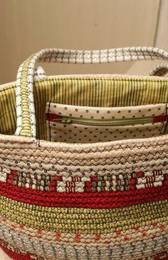 Quick Clothesline Carry-All~idea!