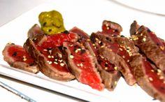sashimi beef rundvlees