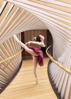 Beautiful - Taken at the bridge that connects the Royal Ballet with the Royal Ballet School. Photo by Gene Schiavone