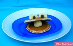 kid food, frog, oyster pancak, kid breakfast