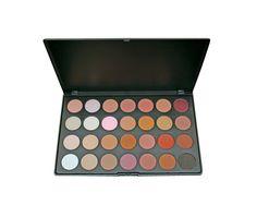 28 Colour Neutral Shadow Palette - Professional Neutral Eyeshadows