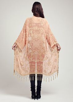 Velvet Kimono Jacket - The Candy Lace