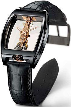 Corum Golden Bridge Ceramic #luxurywatch #Corum-swiss Corum Swiss Watchmakers watches #horlogerie @calibrelondon