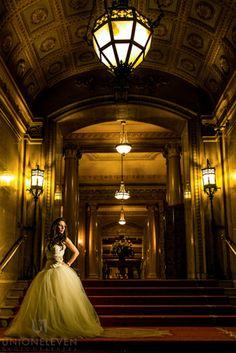 Chateau Laurier wedding photo