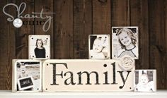 DIY Photo Blocks by Shanty 2 Chic