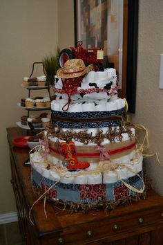 Little cowboy or cowgirl baby shower