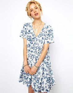 smock dress / asos