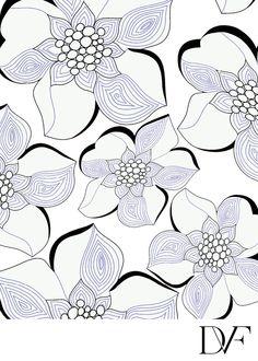DVF | Bark Poppy Print, Spring 2012: Beginnings
