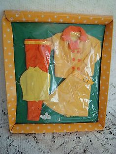 Vintage 1960's Barbie Clone Teen Wardrobe Mod Outfit   eBay