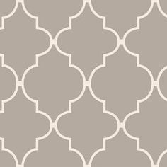 gray moroccan wallpaper | ... Tile Wallpaper at Lowes.com - taupe, gray, moorish tiles, wallpaper