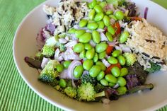 Dr. Fuhrman-approved salad with Wild Blueberry Zinger Dressing #vegan Carrie on Vegan
