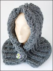 Chunky Hooded Neck Wrap