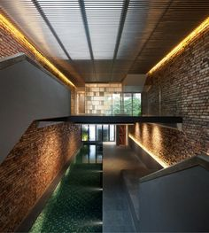 The Pool Shophouse by FARM and KD Architects | HomeDSGN, a daily source for inspiration and fresh ideas on interior design and home decoration.