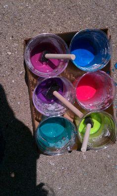 Sidewalk Chalk Paint!