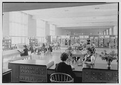 Vintage Library Photo
