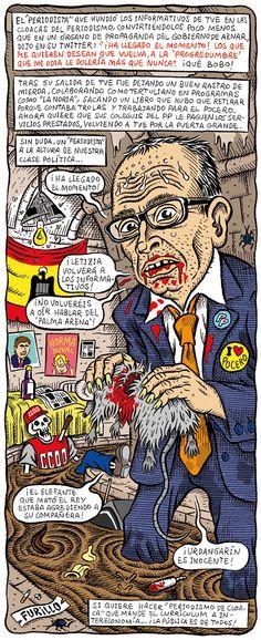 El gilipollas de la semana: Alfredo Urdaci
