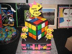 Awesome 80's Cake The Great Cake Contest of 2010 | Disney Family.com cake idea, parti cake, 80s cake, birthday cake, cake contest