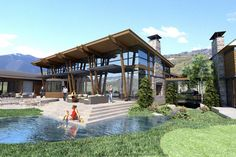 K2 Ranch, Aspen, CO by Charles Cunniffe Architects