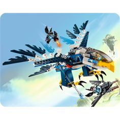 eri eagl, lego experi, eagl interceptor, lego chima