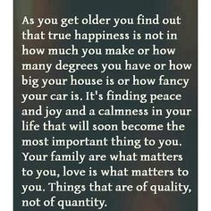 Don't be afraid of growing old
