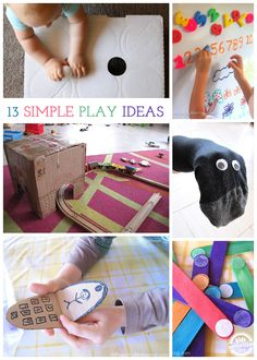 13 {Simple} Kids Play Ideas - Kids Activities Blog kid playing, kid activities, simpl kid, play idea