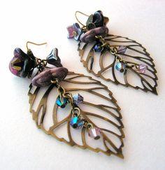 Vacation Earrings Tutorial #diy #jewelry #earrings