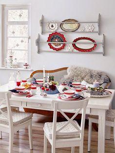 Simple dining area w