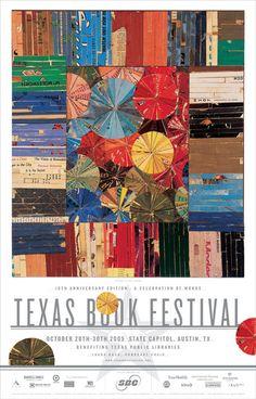 texas book festival poster