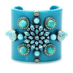 Pucci turquoise cuff