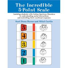 The Incredible 5-Point Scale- Use the simple 5-point scale to help students understand and control their emotional reactions. $19.95