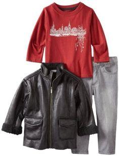 Kenneth Cole Boys 2-7 KC Toddler 45743091 3 Piece Set --- http://www.pinterest.com.yolo.bz/5pe
