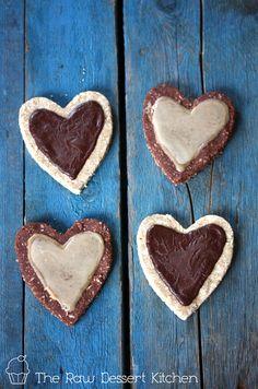 kitchens, raw desserts, dessert recipes, valentine day, heart cookies, vegan recipes, rawvegan dessert, nut free, raw food