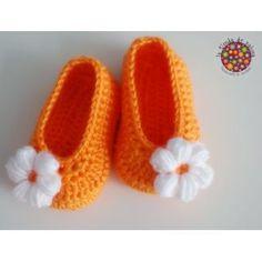 Bellos Zapatos A Crochet Para Bebe, Niños O Niñas