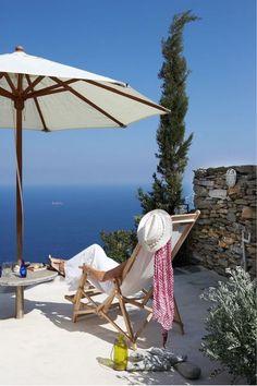 Very very nice. Relaxing under white umbrella.
