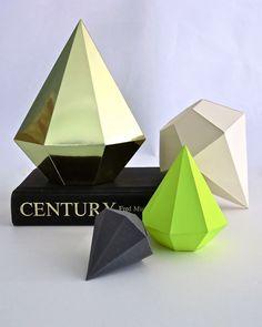 DIY Diamond Template & Instructions via Tamara Maynes