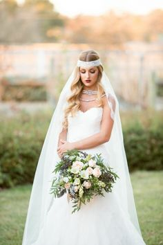 Vintage bride beauty
