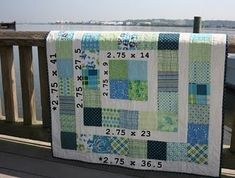 good tute for baby quilt