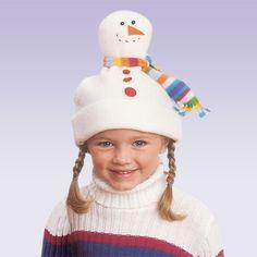 Snowman Hat  #DIY #Christmas #Crafts #Easy